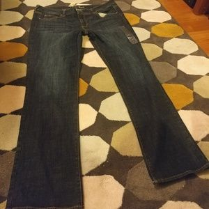 American Eagle 18 Long Straight Jeans NWT